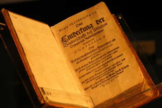 Libro Fama fraternitatis