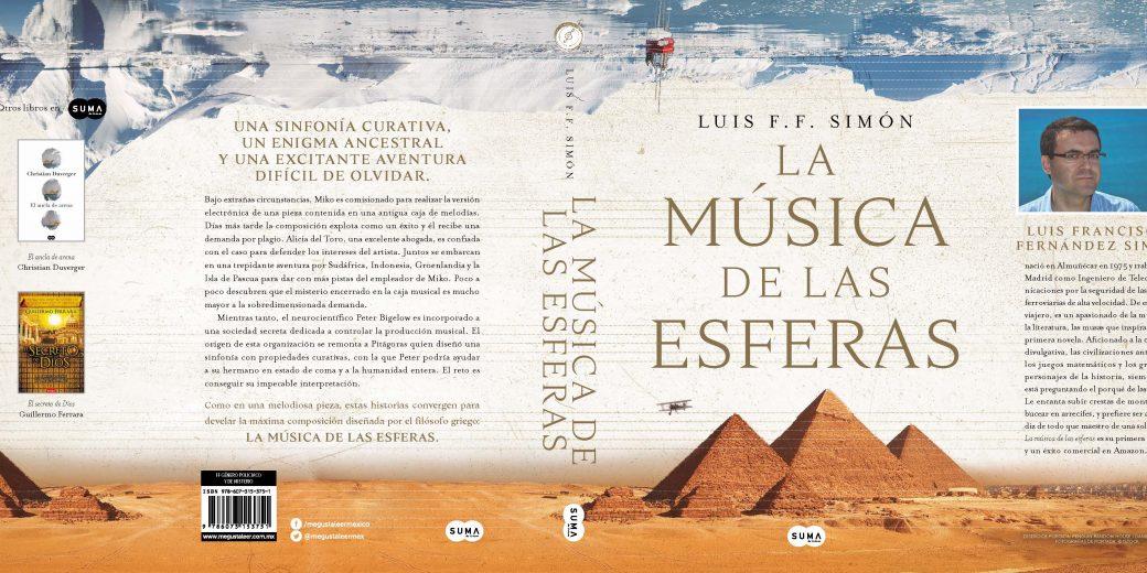 La novela LA MÚSICA DE LAS ESFERAS publicada por SUMA DE LETRAS