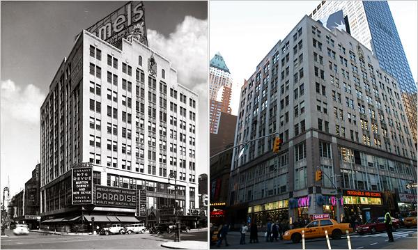 edificio Brill antes y después
