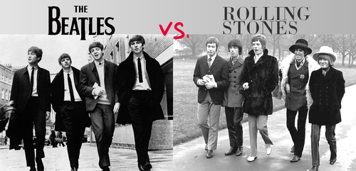 beatles vs rolling